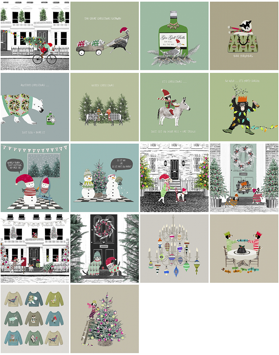 New Christmas Card Designs 2017